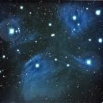 M45 - Plejaden; Aufgenommen auf der Sternwarte in Erfurt