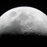 Der Mond mit dem Zeiss Refraktor an der Erfurter Volkssternwarte