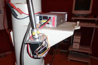 Schrittmotorantrieb mit FS2 Steuerung