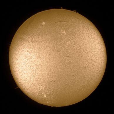 Sonnenbeobachtung mit H Alpha Filter am 15.6 2013