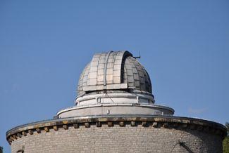 Kuppel der Sternenwarte 2013