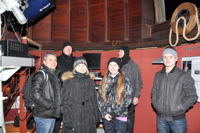 Beobachtungsabend am 12.02 2014 in der Erfurter Sternwarte