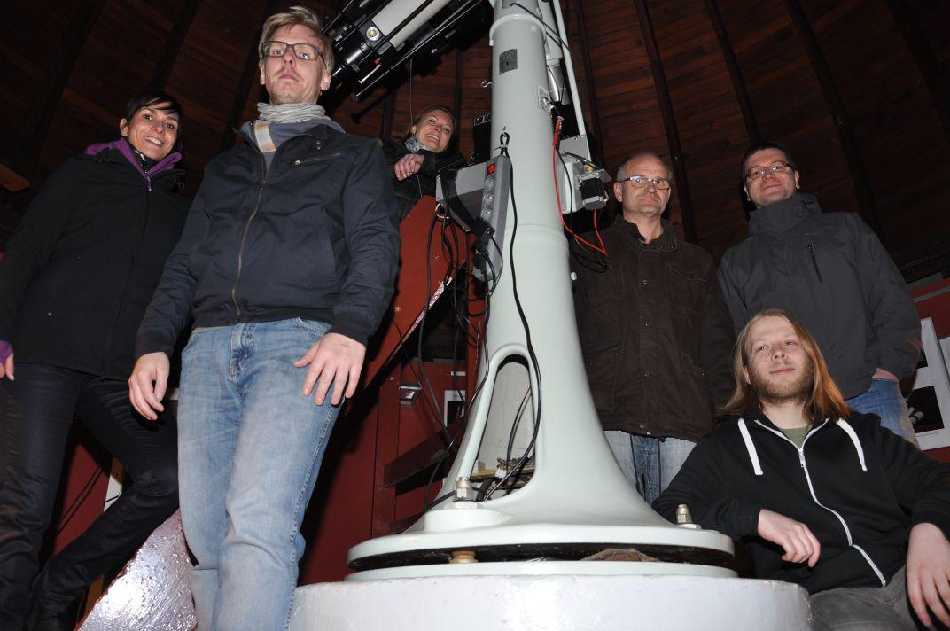 Beobachtungsabend am 12.03 2014 in der Erfurter Sternwarte